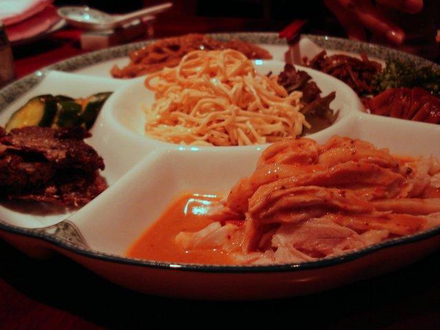 「趙楊」の前菜